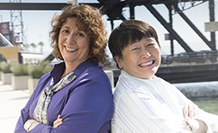 Elizabeth Keith and Elizabeth Shih of Dignity Health