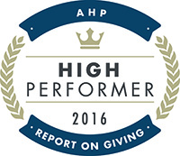 Dignity Health Philanthropy named 2016 top-performing fundraiser.