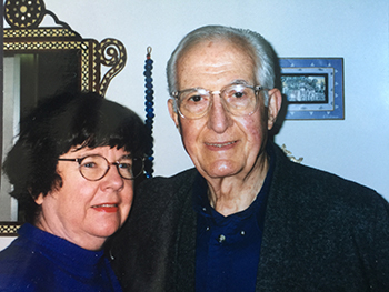 The late Costas Issidorides, Ph.D. and Bonnie Issidorides