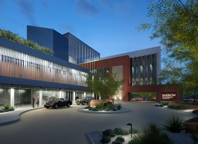 Artist rendering of the Barrow Neuroplex